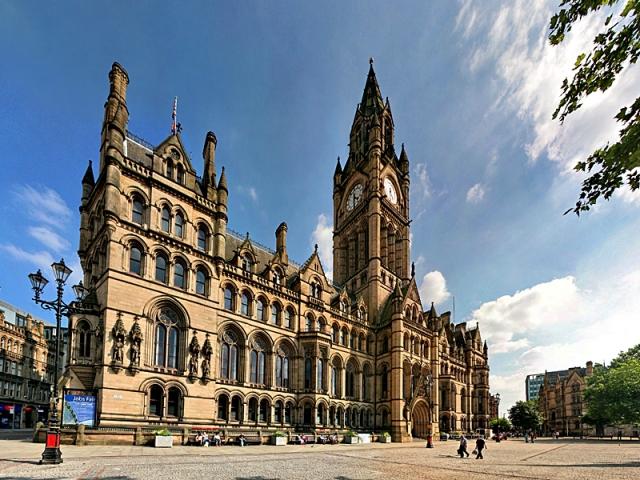 Впечатляющие фото городов Туманного Альбиона: Манчестер