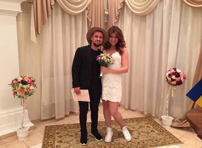 Роспись Дмитрия Монатика с женой