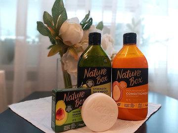Засоби для догляду за волоссям Nature Box