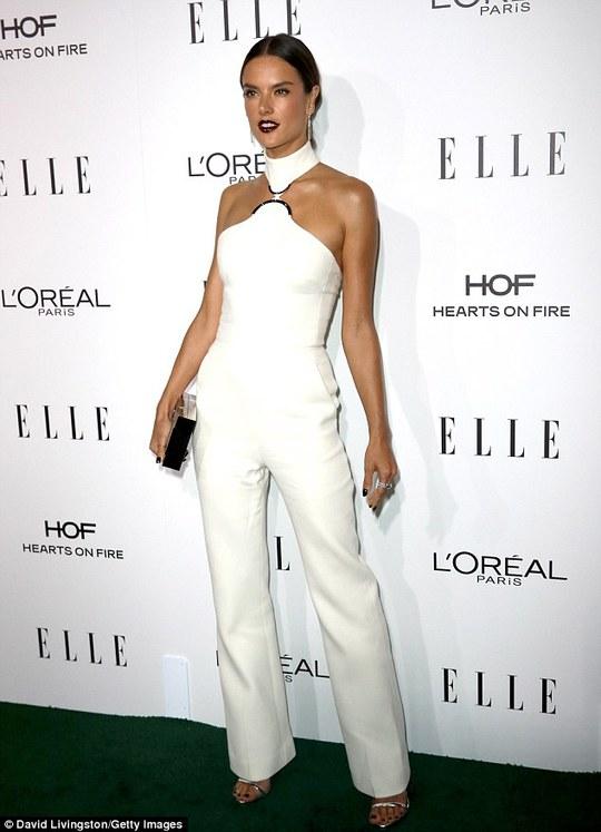 Кращий образ дня: Алессандра Амбросіо на Elle Women Awards 2016