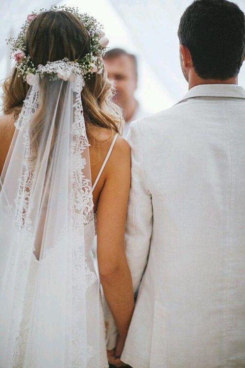 Весільні зачіски з фатою