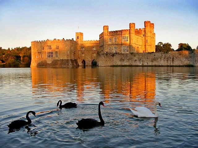 Замки Великобритании: замок Лидс