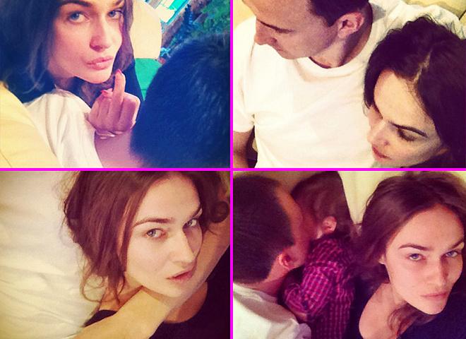 Водонаєва показала фото з чоловіком