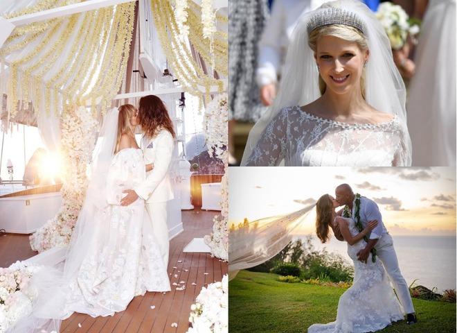 Найкрасивіші весільні сукні знаменитостей 2019 року