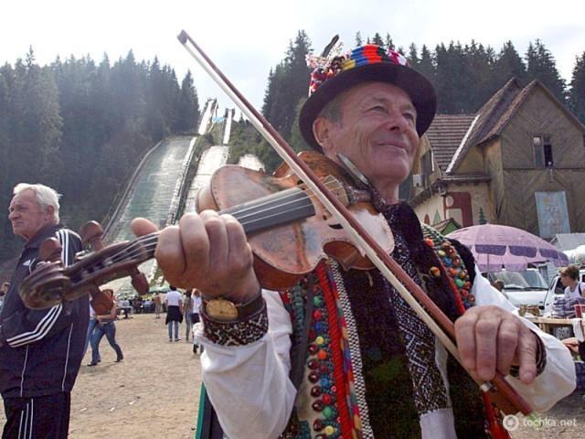 Тур выходного дня: едем в Буковель осенью