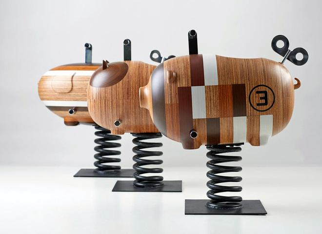 Дизайнерские качалки на пружине