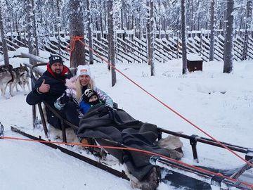 TamerlanAlena відпочинок у Фінляндії