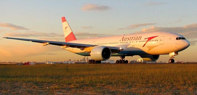 Потеря багажа в аеропорту: Austrian Airlines