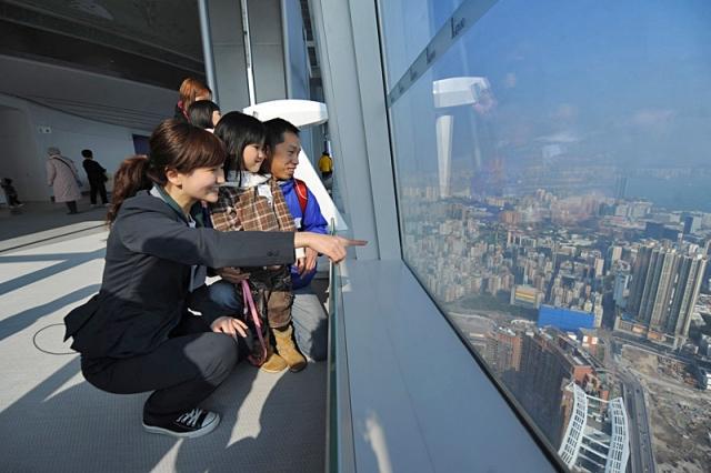 Достопримечательности Гонконга: смотровая площадка Sky100