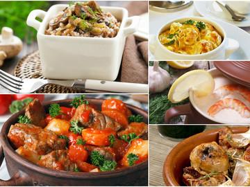 Рецепты блюд в горшочках
