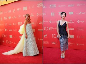 Самые красивые платья с красной дорожки ОМКФ