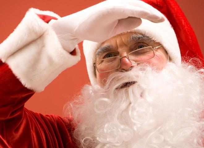 Санта Клаус прилетел!