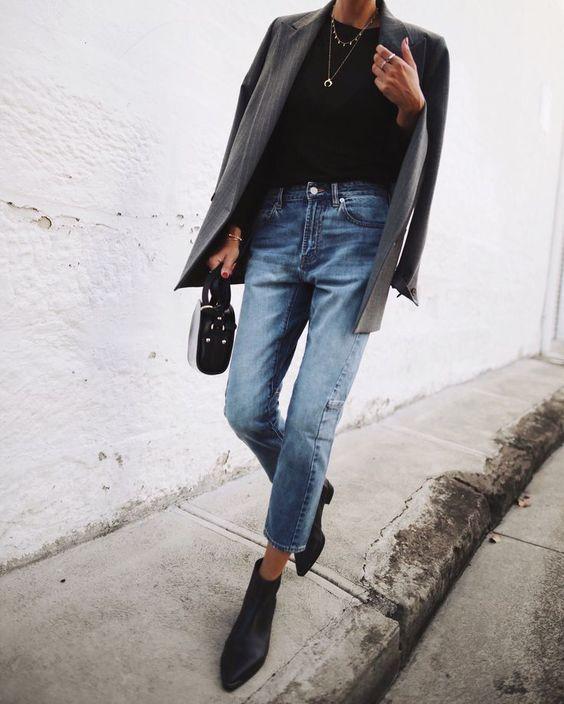 Прямые джинсы весна 2019