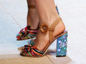 Взуття на весну-літо 2017 року з показу Dolce & Gabbana