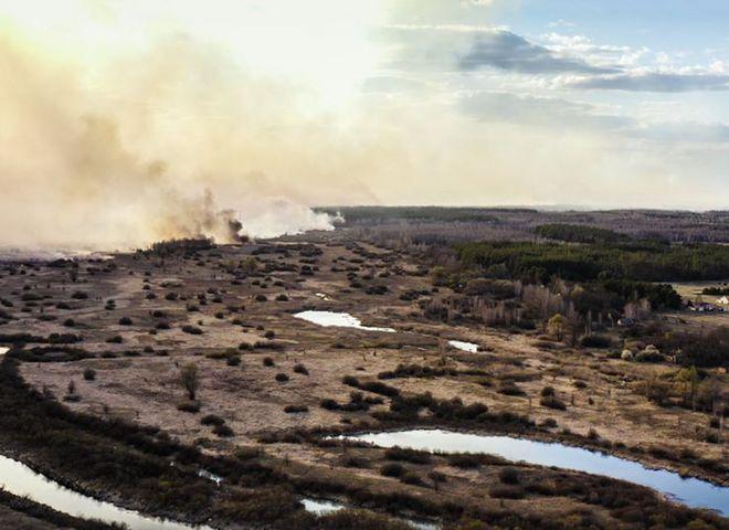 Чернобыль в огне