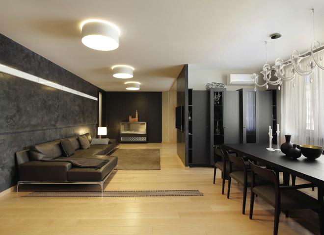 Двухэтажная квартира в Киеве: с мыслью о Range Rover