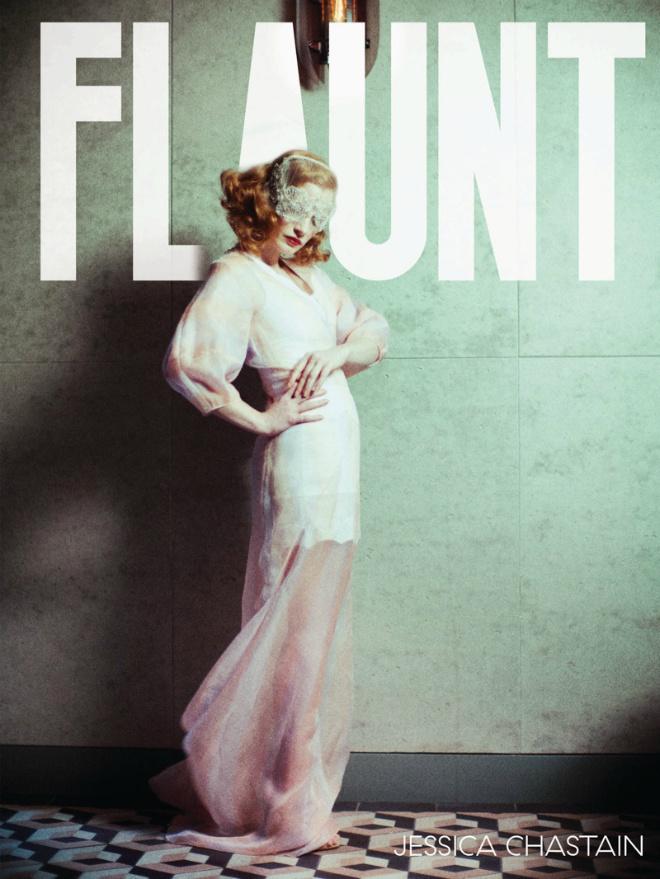 Джессика Честейн для Flaunt