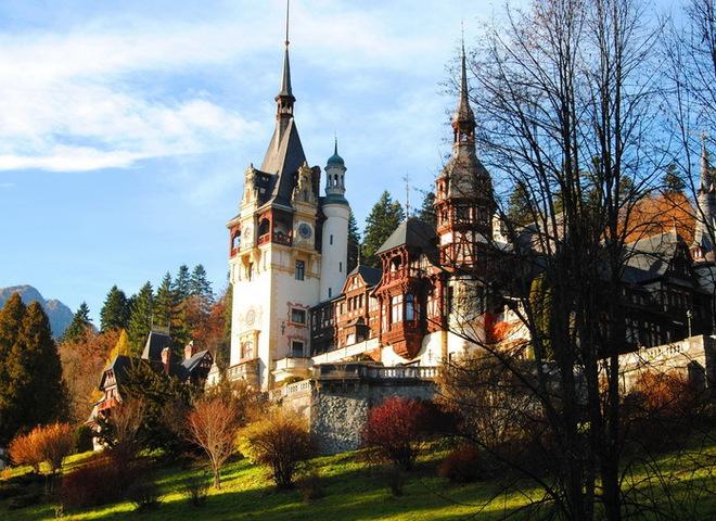 Замок Дракулы. Трансильвания.