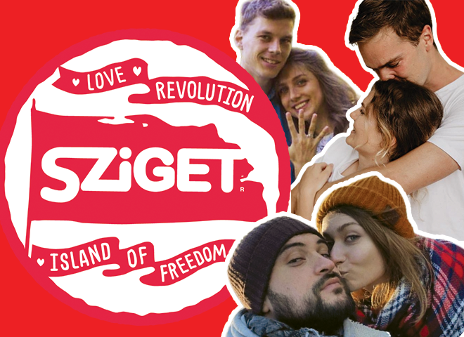 Love Revolution: 3 пары, которые сложились на фестивале Sziget