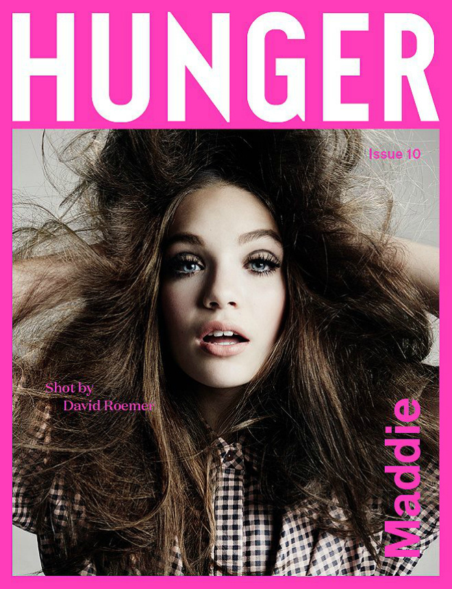 Медді Зіглер для Hunger Magazine