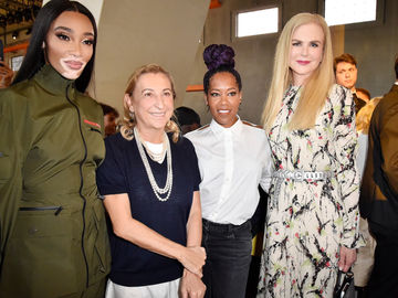 Знаменитые гости Недели моды в Милане