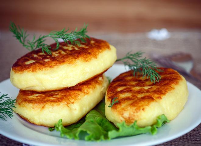 рецепт картофельные зразы с печенкой жареные на сковороде