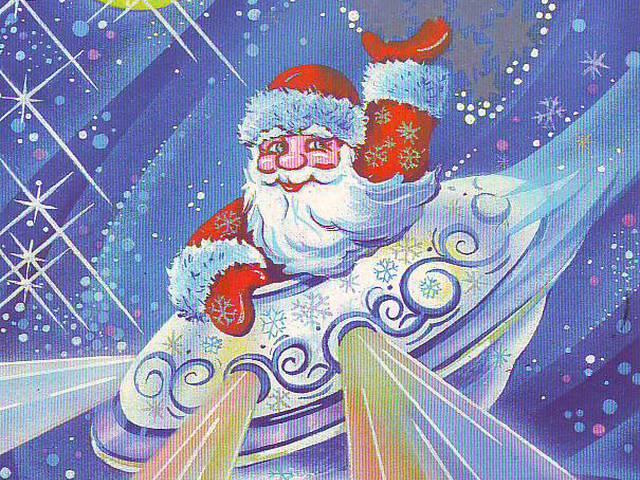 Открытки днем, панна открытка дед мороз