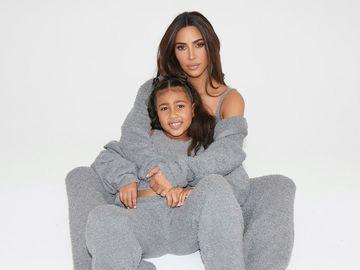 Ким Кардашья с дочерью Норт