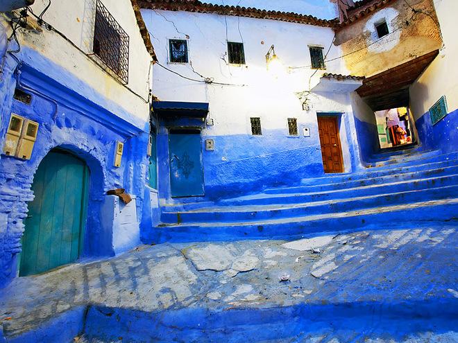 50 відтінків синього: Смарагдове місто в Марокко