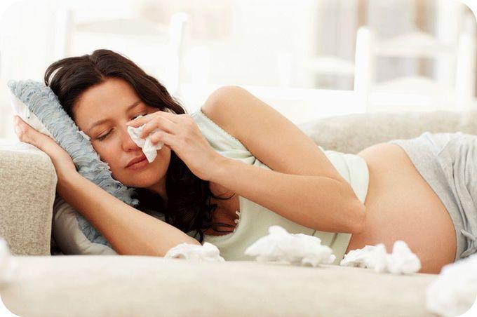 Лікування застуди під час вагітності