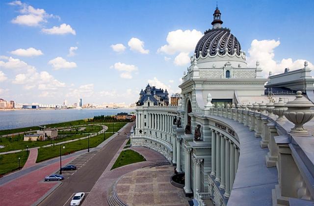 Висотна Казань: Палац Хліборобів