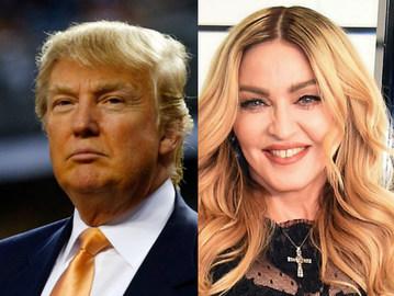 Мадонна и Трамп