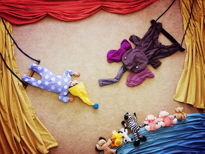 Фотосессия детский сон