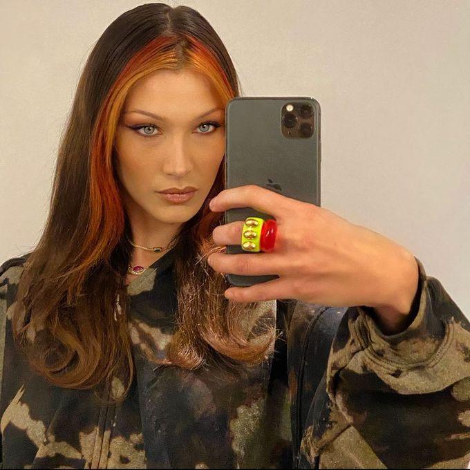 Модне подвійне фарбування волосся: приклади знаменитостей