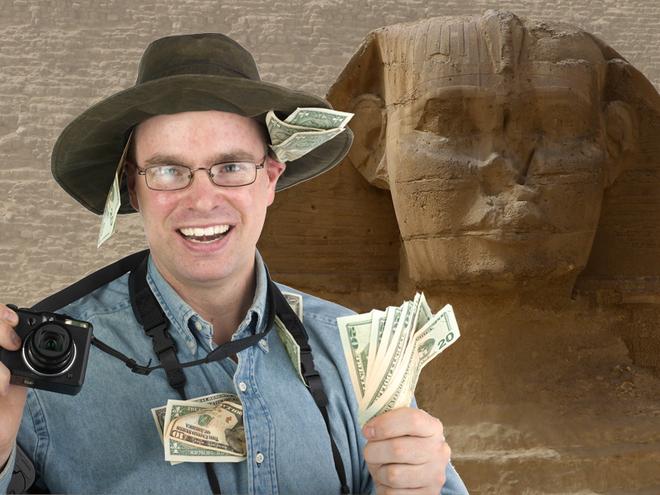 Скільки грошей брати в Єгипет