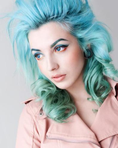Цветные брови