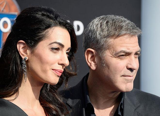Джордж Клуні і Амаль Клуні