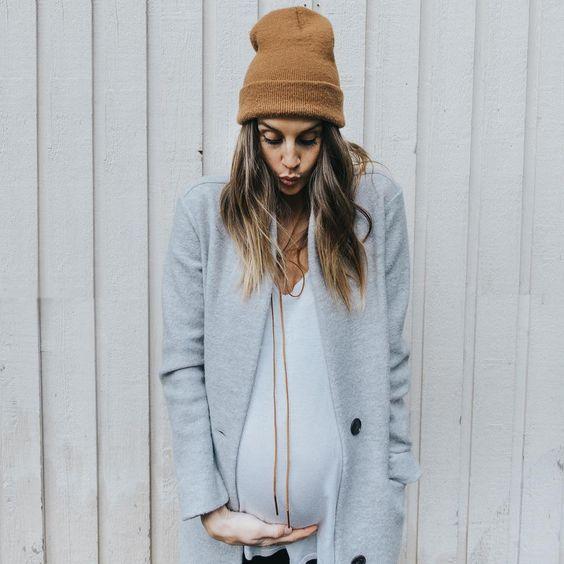 Беременные образы на зиму