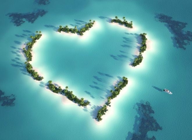 Чудеса світу: дивовижні місця на Землі в формі серця