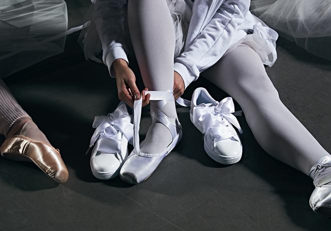 Кросівки замість пуантів: балерини і Кайлі Дженнер в новому кампейні Puma
