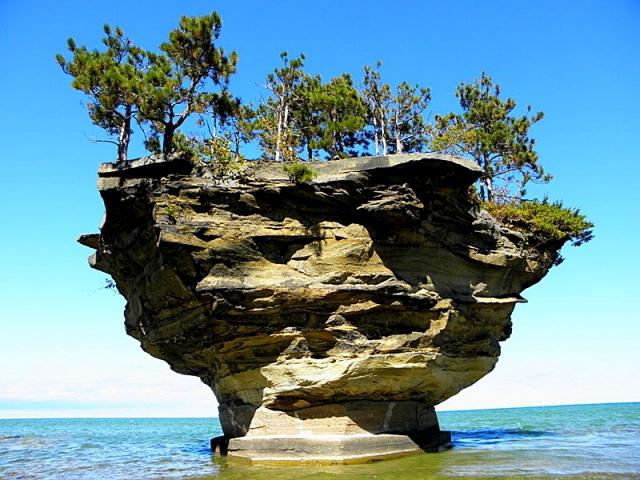 Необычные скалы: скала-Репа