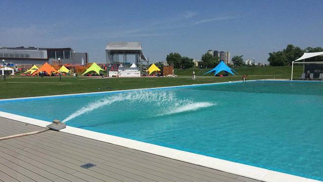 В Киеве появится самый большой бассейн под открытым небом