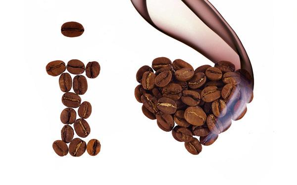 Смешные шедевры с кофейных зёрен