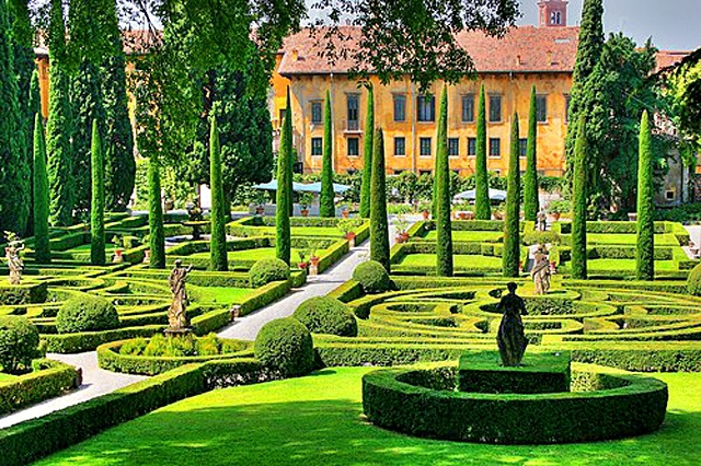Цікаві місця Верони: Сад Джусті