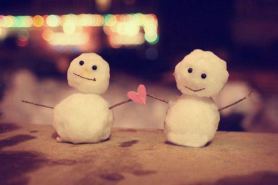 Прикольная открытка к зиме