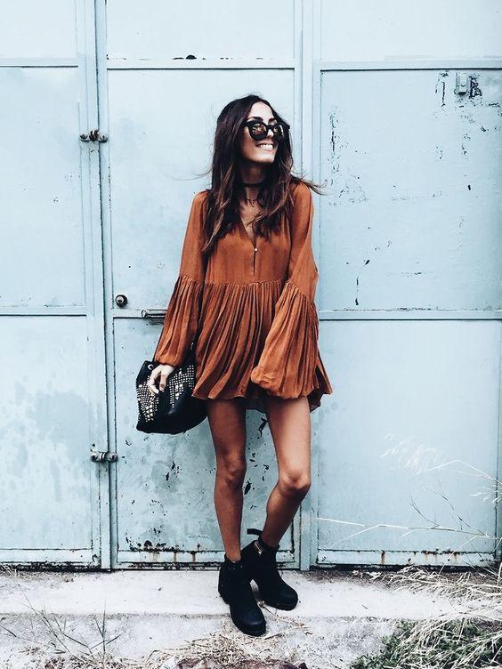 Модные платья на осень 2018: лучшие варианты на каждый день