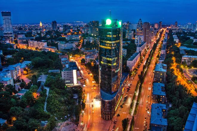 10 самых высоких зданий Киева