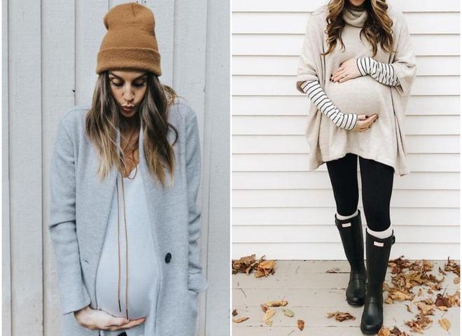 37e5400431db Как одеться беременным зимой