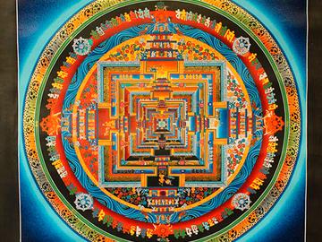 Удивительный мир индийской культуры: тибетская живопись глазами редакции tochka.net