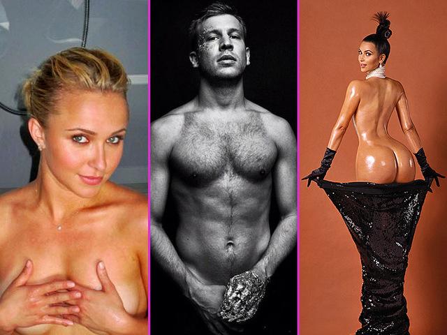 откровенные фото знаменитостей российских